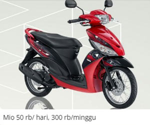 Harga Sewa Motor di Bali - Krisna Motor Bali